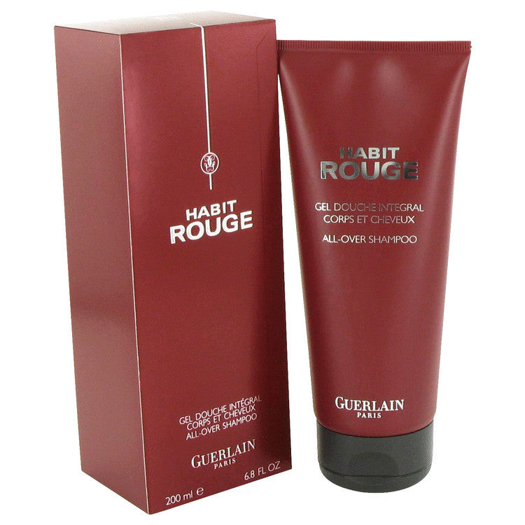 HABIT ROUGE by Guerlain Hair & Body Shower gel 6.8 oz (Men)