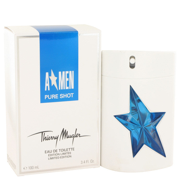 Angel Pure Shot by Thierry Mugler Eau De Toilette Spray 3.4 oz (Men)