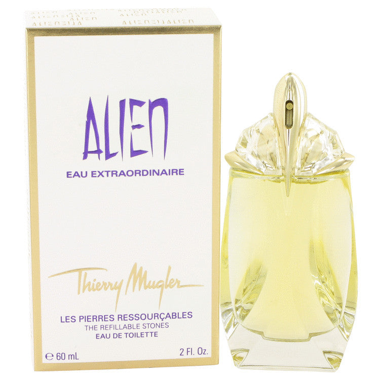 Alien Eau Extraordinaire by Thierry Mugler Eau De Toilette Spray Refillable 2 oz (Women)