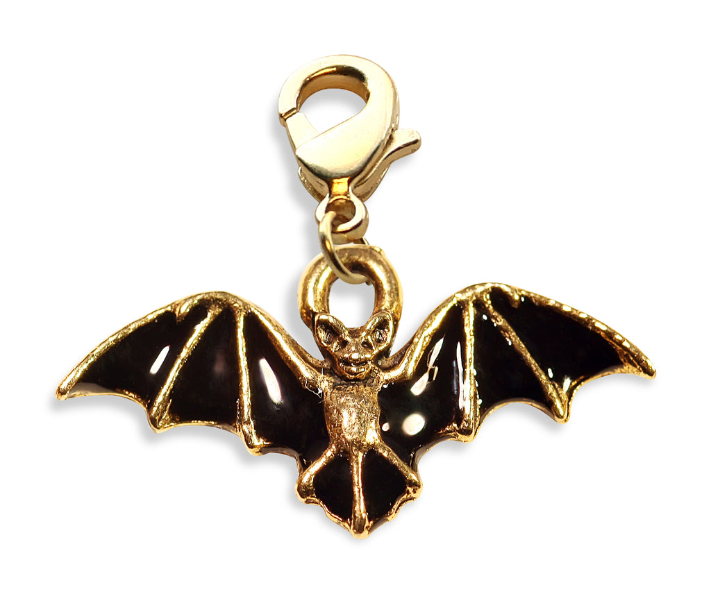 Bat Charm Dangle in Gold