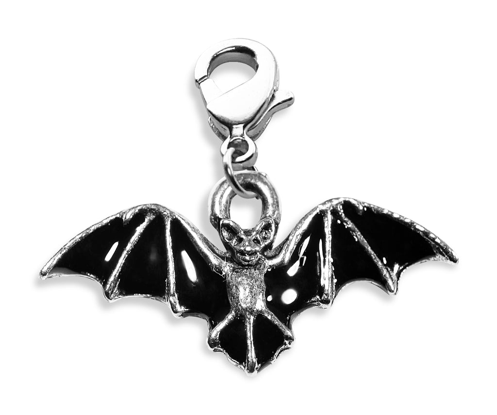 Bat Charm Dangle in Silver