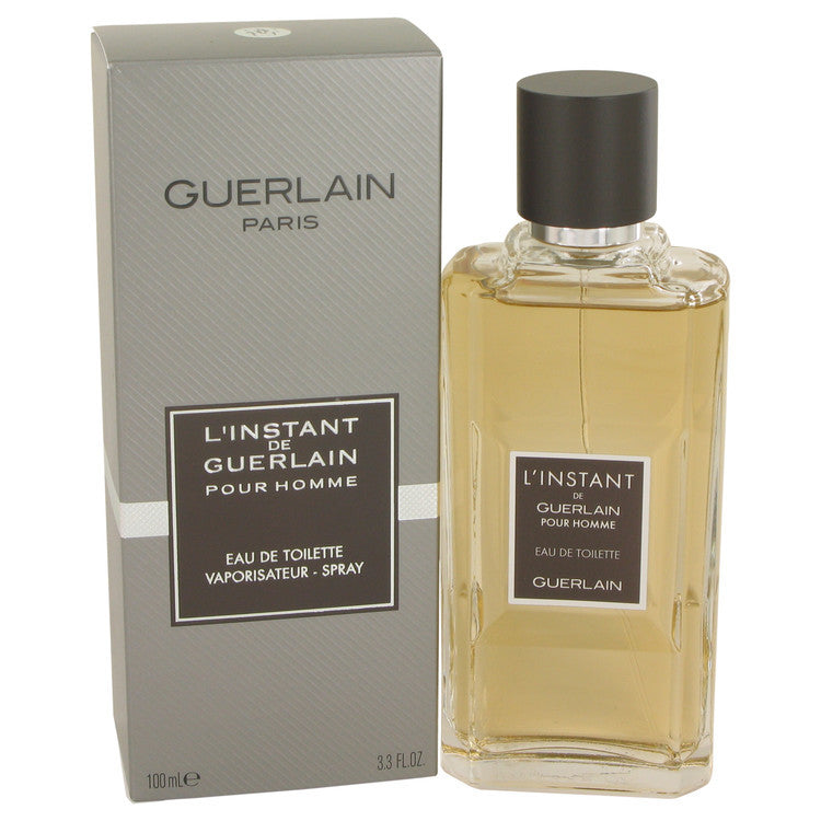 L'instant by Guerlain Eau De Toilette Spray 3.4 oz (Men)