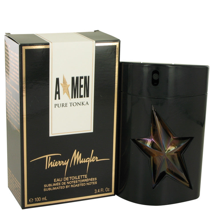 Angel Pure Tonka by Thierry Mugler Eau De Toilette Spray 3.4 oz (Men)