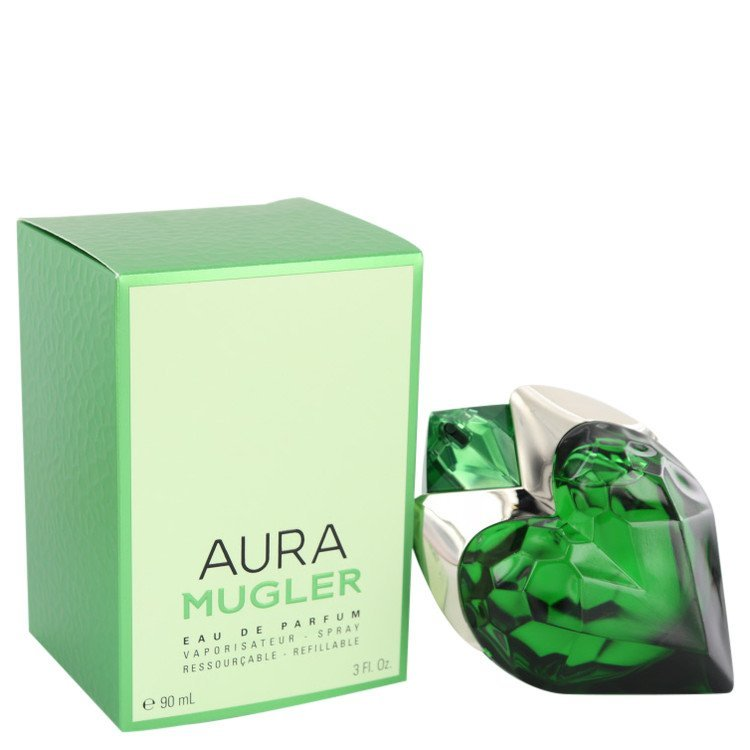 Mugler Aura by Thierry Mugler Eau De Parfum Spray Refillable 3 oz (Women)