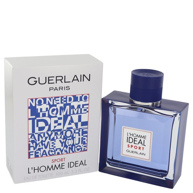 L'homme Ideal Sport by Guerlain Eau De Toilette Spray 3.3 oz (Men)