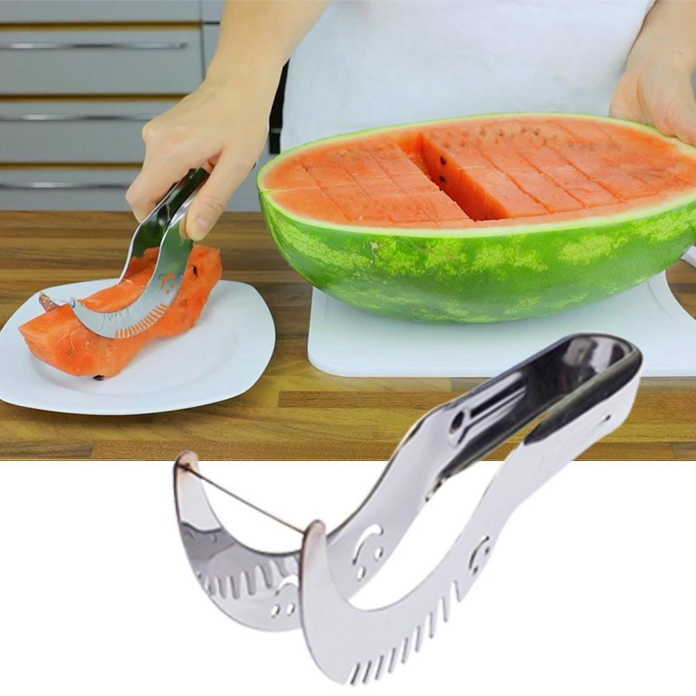 WOWZY Watermelon Slicer All Stainless Steel