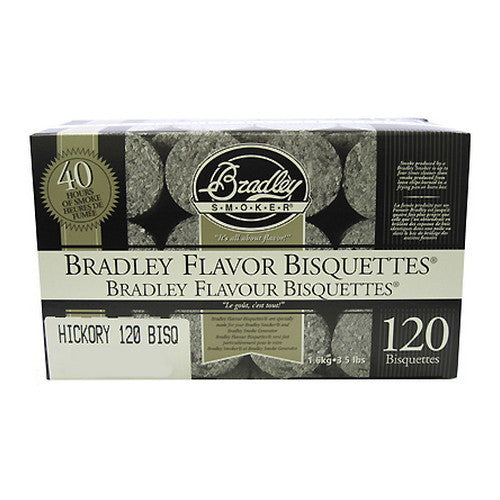 Smoker Bisquettes Hickory ( 120 Pack)