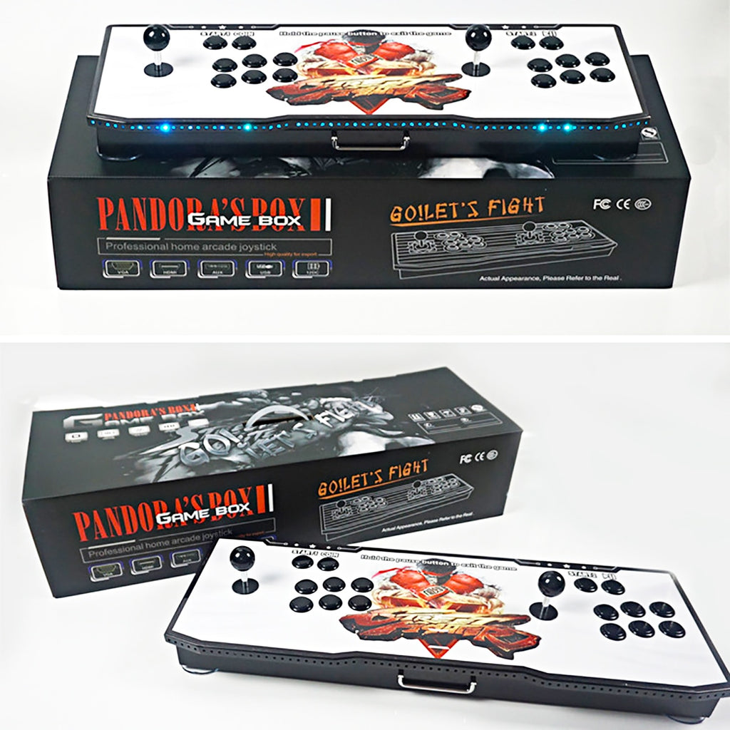 815 In 1 box 4S With LED Light Home Metal Arcade Console Machine Double PK Joystick HD Video Coin Operated Games