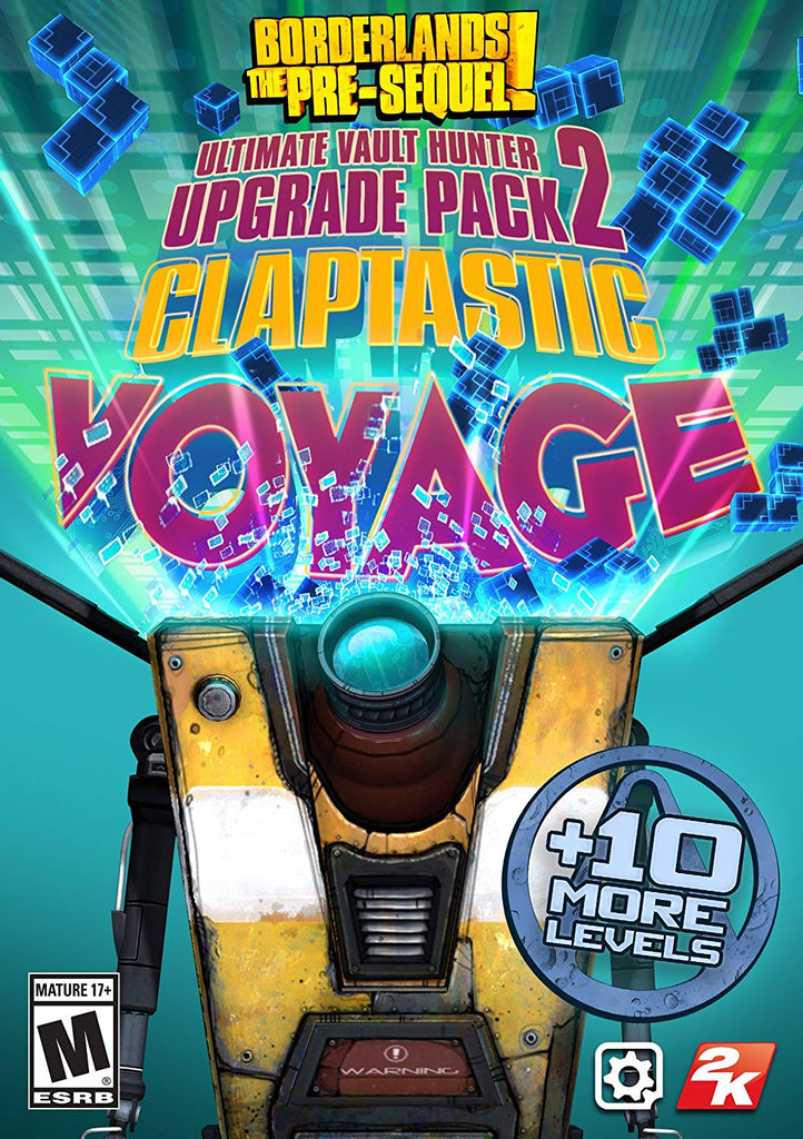 Borderlands: The Pre-Sequel - Claptastic Voyage and Ultimate Vault Hunter Upgrade Pack 2 (DLC)