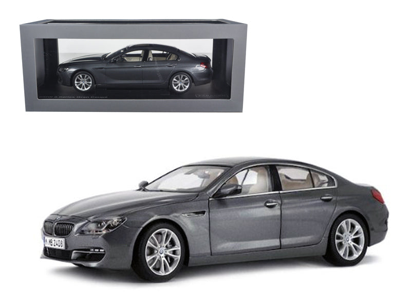 BMW 650i Gran Coupe 6 F06 Series Space Grey 1/18 Diecast Car Model by Paragon