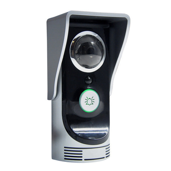 Wifi Video Phone Motion Intercom With Rainproof Camera Doorbell