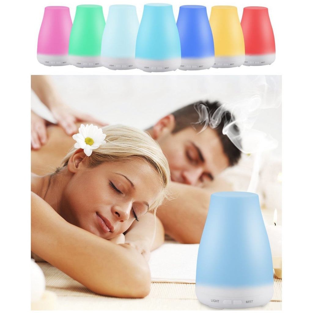 Misty Mood Maker Humidifier With Aroma Essential Oil Free
