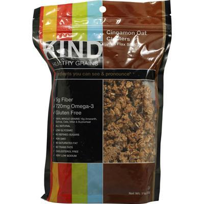 Kind Cinnamon Oat Clusterr with Flax Seed (6x11 Oz)