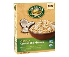 Nature's Path Chia Plus Coconut Chia Granola (12x12.34 Oz)