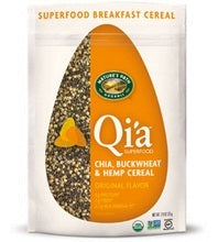 Nature's Path Qi'a Superfood Original Flavor Chia, Buckwheat & Hemp Cereal (10x7.94 Oz)