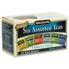 Bigelow 6 Assorted Teas (6x18 Bag )