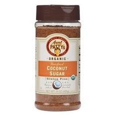 Aunt Patty's Organic Coconut Sugar  (6x6/10 Oz)
