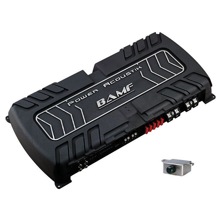 Power Acoustik BAMF Series 1 channel D class 8000 Watts