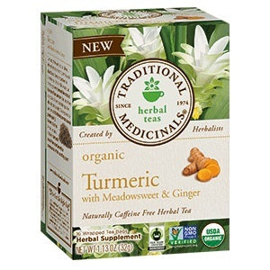 Traditional Medicinals Turmeric with Meadowsweet & Ginger Tea (6x16 BAG )