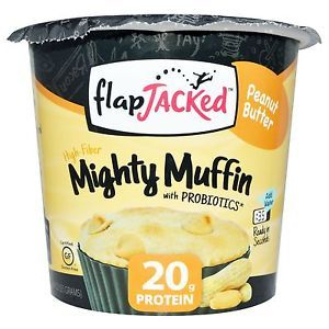 FlapJacked Mighty Muffins Peanut Butter (12x1.94 OZ)