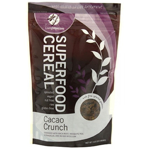 Living Intentions Cereal Cacao Crunch Superfood (6x9 OZ)