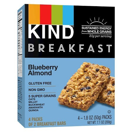 Kind Breakfast Bar Blueberry Almond  (8x4 PACK)