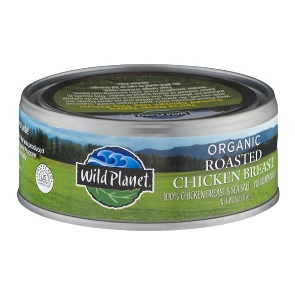 Wild Planet Organic Roasted Chicken Breast Salted (12x5 OZ)