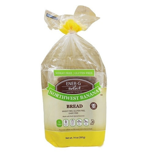 Ener-G Select Gluten Free Bread Northwest Banana (6x14 OZ)