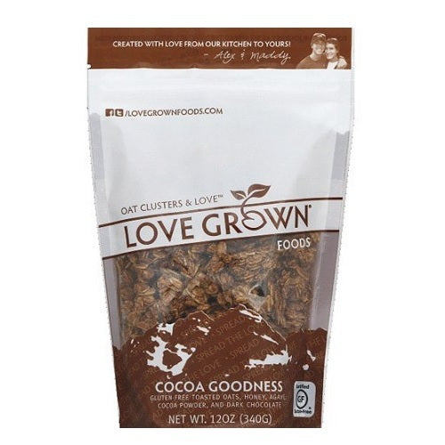 Love Grown Oat Clusters Cocoa Goodness (6x12 OZ)