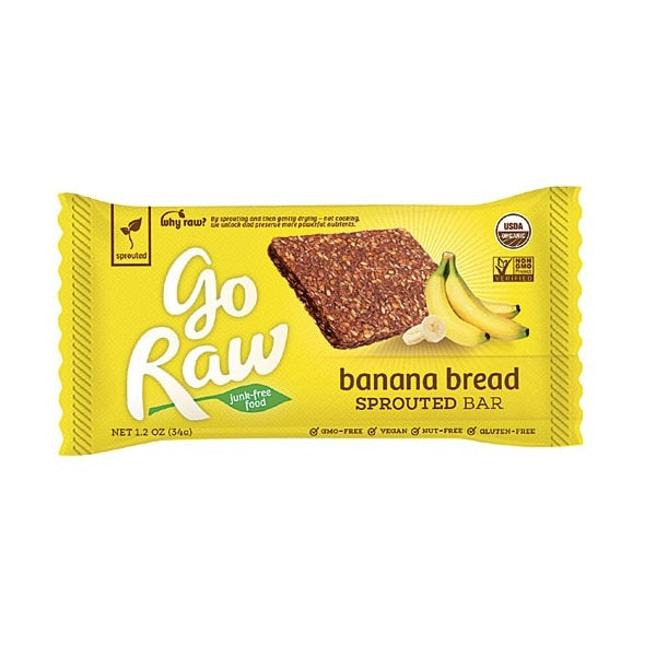 Go Raw Banana Bread Sprouted Bar (30x1.2 OZ)