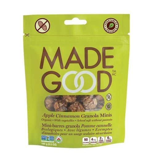 Made Good Granola Minis Apple Cinnamon  (6x3.4 OZ)
