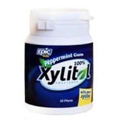 Epic Dental Xylitol Gum Peppermint (1x50 CT)