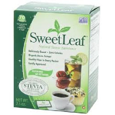 Sweet Leaf Stevia 1G/Pack et (1x70 CT)