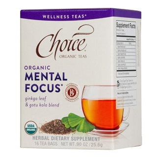 Choice Organic Mental Focus (6x16BAG )