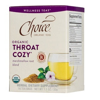 Choice Organic Throat Cozy (6x16BAG )