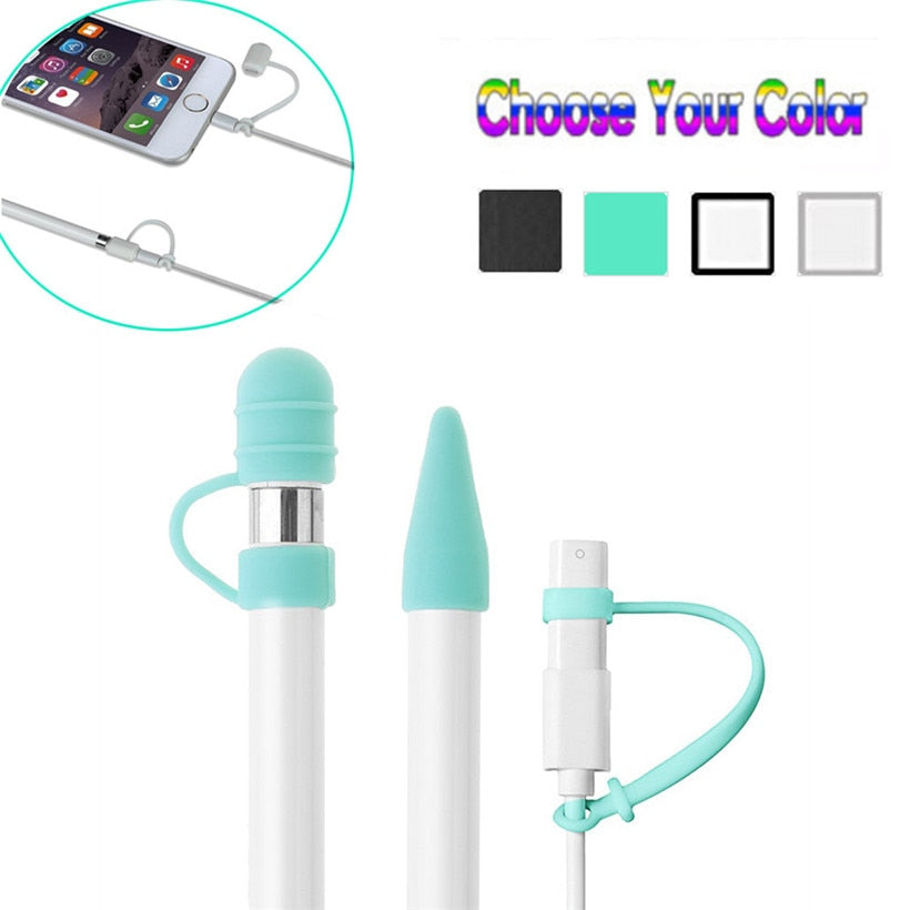CARPRIE For Apple Pencil Cap Holder / Nib Cover / Cable Adapter Tether for iPad Pro Pencil 180208 drop shipping