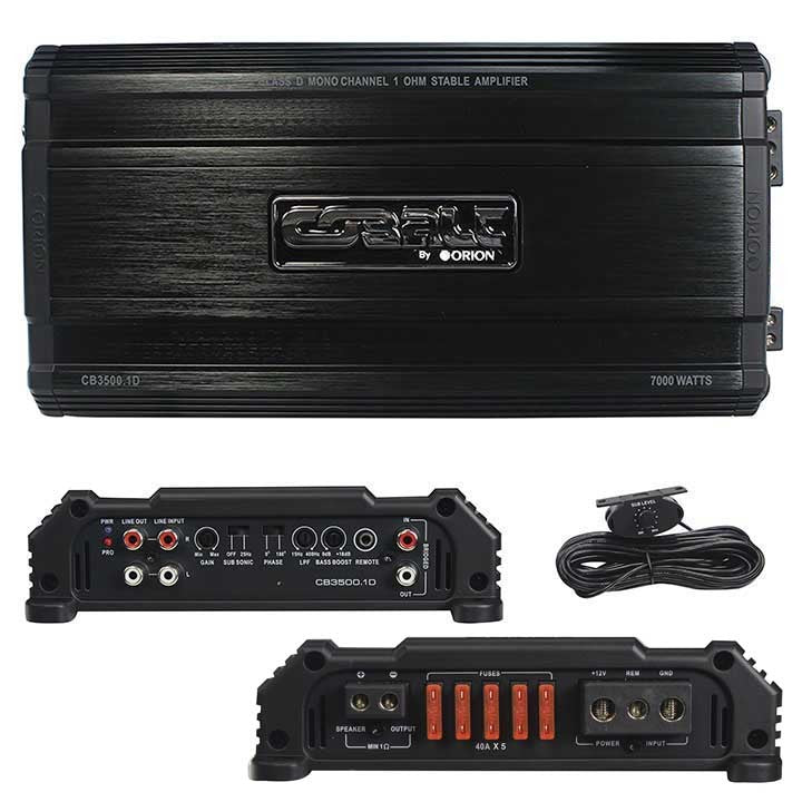 Orion Cobalt D Class Amplifier 3500 Watts @ 1 ohm