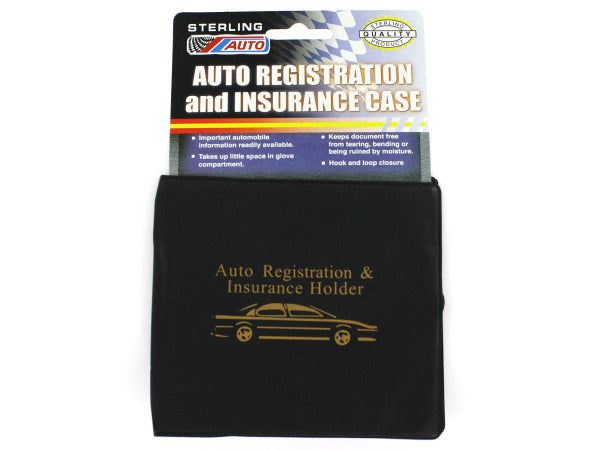 Auto Registration & Insurance Case ( Case of 72 )