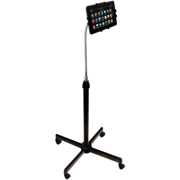 CTA Digital PAD-UAFS Height-Adjustable Gooseneck Stand with Casters for iPad/Tablet