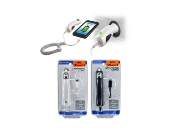iPhone USB Car Charging Port & Cord ( Case of 8 )