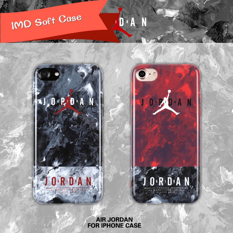 For Iphone 6 6plus 6s Plus 7 7plus 8 New Super Star Air Jordan Soft Imd Cases Nba Sports Basketball All Inclusive Phone Cover