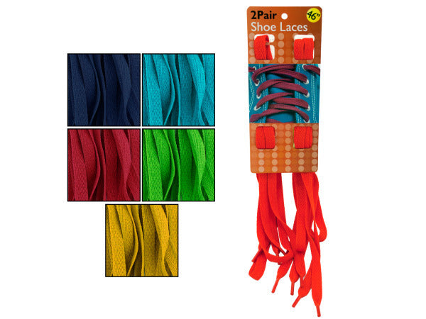Colorful Shoelaces Set ( Case of 30 )
