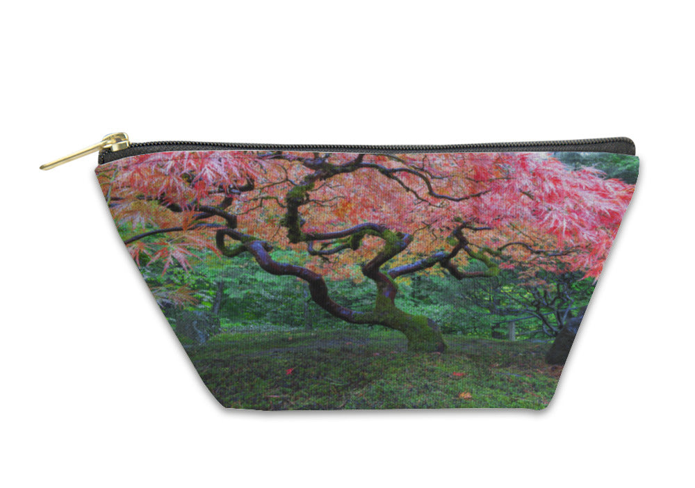 Accessory Pouch, Old Maple Tree At Japanese Garden