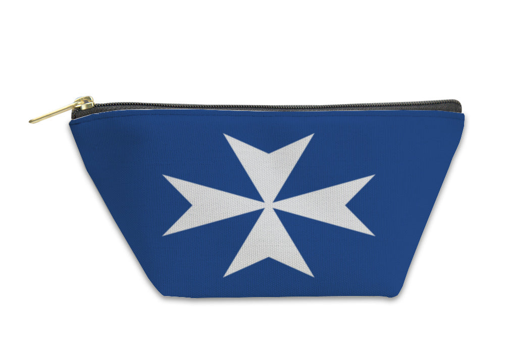 Accessory Pouch, Maritime Republic Of Amalfi Historical Flag Italy