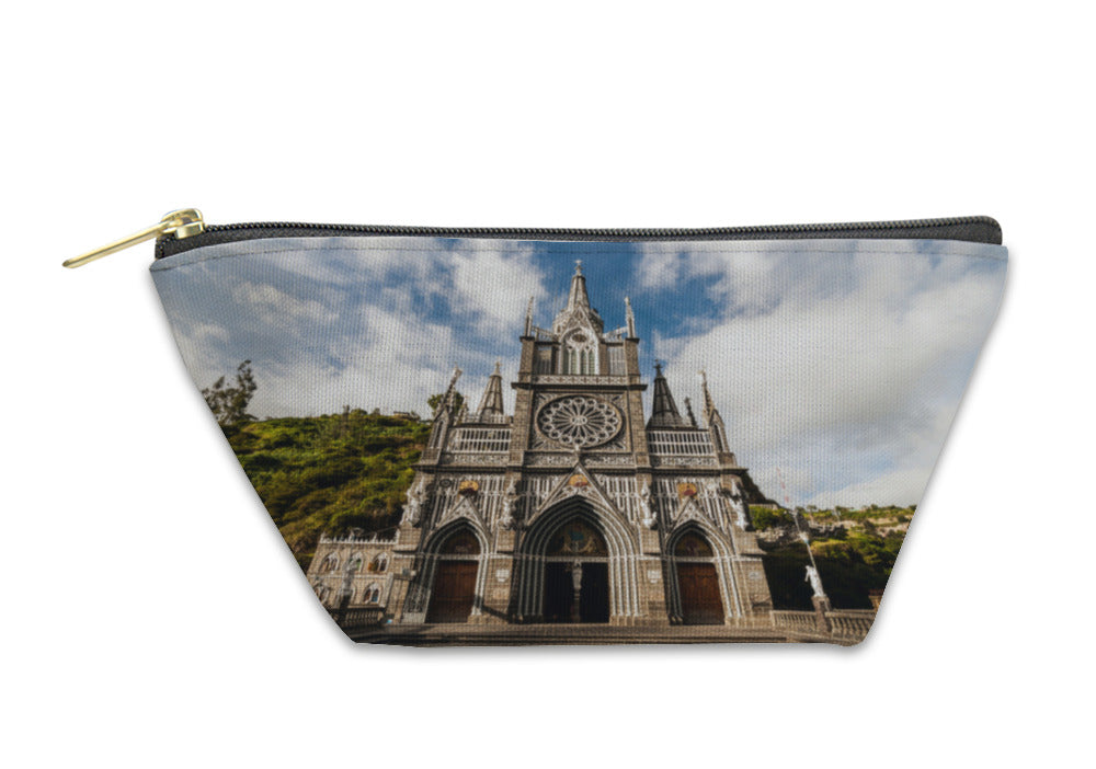 Accessory Pouch, Sanctuary Of Our Lady Las Lajas Colombia