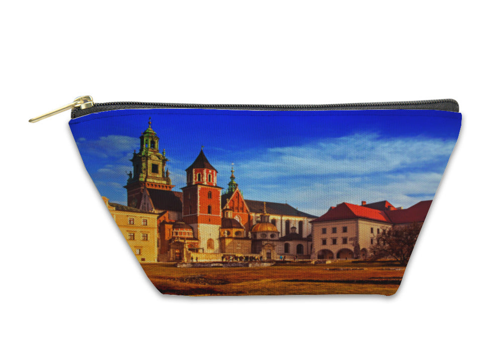 Accessory Pouch, Wawel Hill With Castle In Krakow