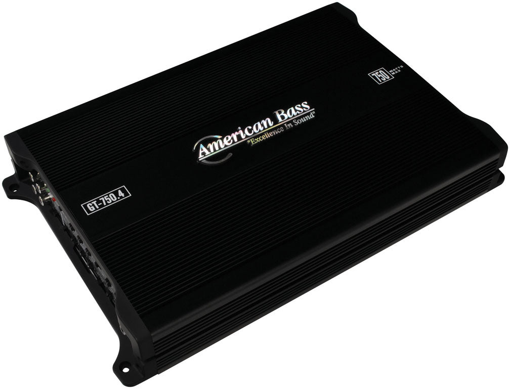 American Bass 4 Channel 750W Max Amplifier