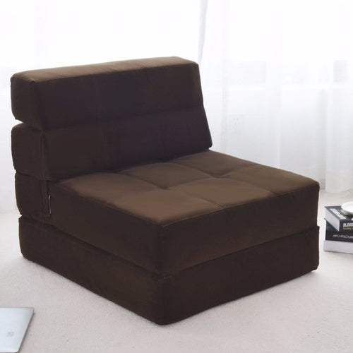 Tri-Fold Fold Down Chair Flip Out Lounger