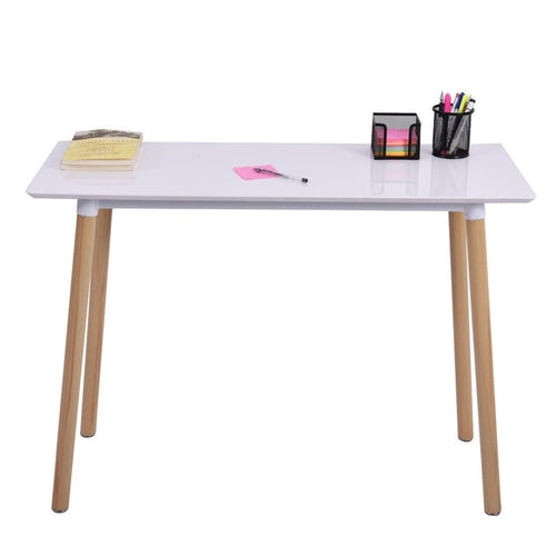 White Writing Desk Modern Computer Table
