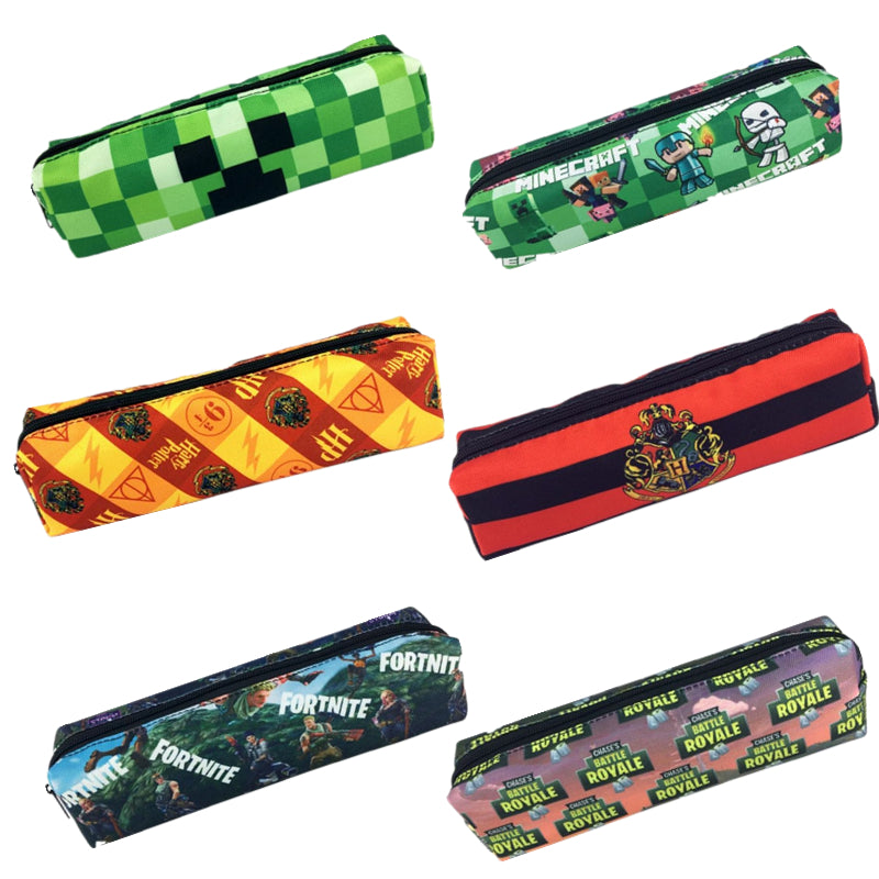 Harri Potter Pencil Bag Action Figure Toys Coin Purse School Supply Kids Party Gift Toys For Children